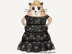 ‪#TheRoyalHamster was a contender for a #EEBAFTA award, but he had to withdraw his name.‬ ‪*the brass mask statue wouldn't fit in his cage*‬  theroyalhamster