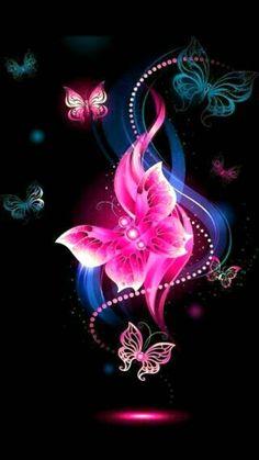 cute pink butterfly Wallpaper by kaeira - db - Free on ZEDGE™ Butterfly Wallpaper, Butterfly Flowers, Beautiful Butterflies, Cellphone Wallpaper, Iphone Wallpaper, Butterfly Pictures, Flower Images, Foto Art, Pretty Wallpapers