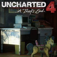 Uncharted 4: Orphanage part 1, Rogelio Olguin on ArtStation at https://www.artstation.com/artwork/d9lYK