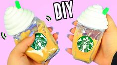 DIY Liquid Starbucks Squishy! Super Cool Liquid Squishy! - YouTube