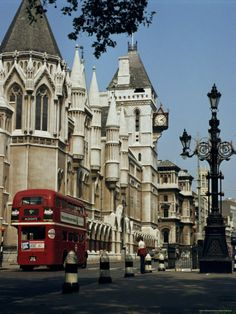 Royal Courts of Justice, the Strand, London, England, United Kingdom