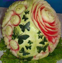 beautiful! Food Carving
