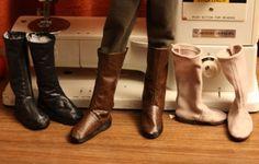 Free pattern MSD knee high boots - denofangels