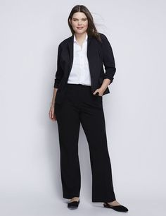 Lane Bryant Lena Trouser with Tighter Tummy Technology