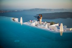 Weddings at Grace Santorini. Photo by Thomas Gallane.