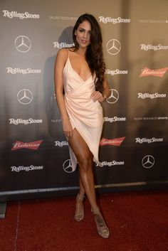 Eiza Gonzalez – Rolling Stone Live Houston on Feb 4 Satin Dresses, Sexy Dresses, Mexican Actress, Sexy Legs And Heels, Hot Heels, Slit Dress, Celebs, Celebrities, Rolling Stones