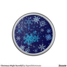 Christmas Night Snowfall Speaker