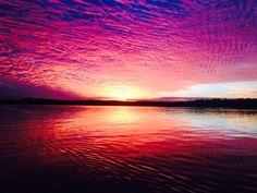 Noosa River Sunset June 03 2015