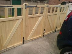 BI-FOLDING DRIVEWAY GATES CUSTOM MADE TO YOUR SIZES