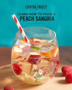 For a hit during warm-weather months, try a white sangria. Get the recipe at TheCocktailProject.com