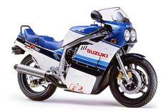 Suzuki GSX-R750  When the first GSXR came out in 1985