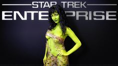Bobbi Sue Luther as an Orion Slave Girl from Enterprise, a low quality still enlarged, enhanced then converted into 3 wallpapers, Enterprise themed, plain & Paint Effect. Description from deviantart.com. I searched for this on bing.com/images