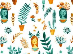 Abigail Halpin's illustrations are so far up our alley that they're practically sitting on our back doorstep.