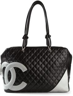 Chanel Vintage padded tote bag