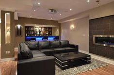 25 Top Modern Basement Design Ideas is part of Top Modern Basement Design Ideas Dwellingdecor Checkout our latest collection of 25 Top Modern Basement Design Ideas and get inspired - Cool Basement Ideas, Small Basement Remodel, Modern Basement, Basement Renovations, Home Remodeling, Industrial Basement, Finished Basement Designs, Basement Bar Designs, Finished Basement Bars