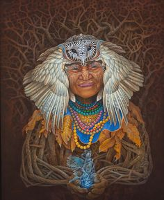 Visionary artwork of Luis Tamani. Arte Indie, Up To The Sky, Psy Art, Rare Gems, Circle Of Life, Visionary Art, Psychedelic Art, Native American Art, Plexus Products
