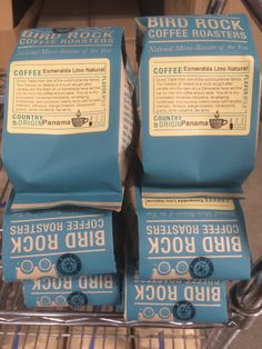 Our Esmeralda Lino Natural from Panama received a 96 on Coffee Review.