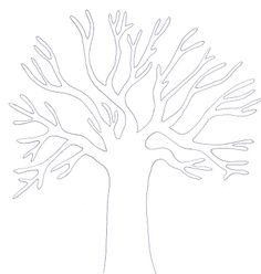 Jesienne drzewa na różne sposoby :D