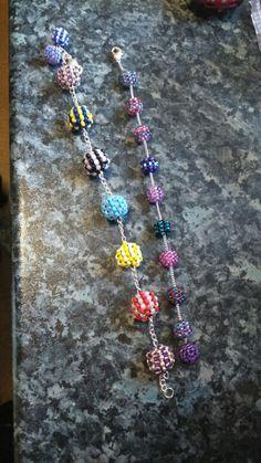 Confetti ball bracelet