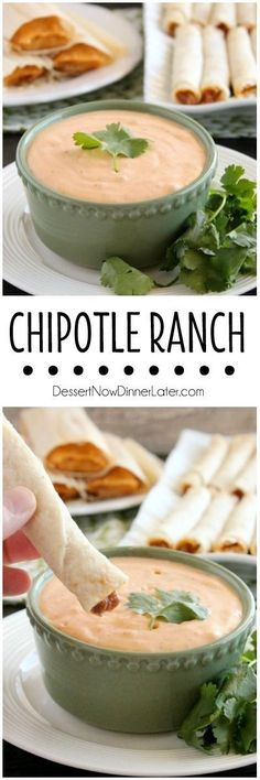 This 4 ingredient Chipotle Ranch makes a delicious dip or dressing! on http://MyRecipeMagic.com