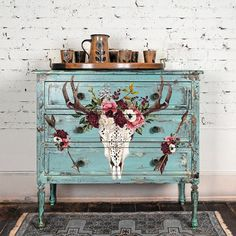 Beautifully Native transfer by Redesign with Prima. x Order, shipping ETA Decoupage Furniture, Funky Furniture, Refurbished Furniture, Paint Furniture, Repurposed Furniture, Furniture Makeover, Luxury Furniture, Antique Furniture, Furniture Removal