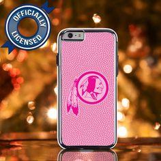 Officially Licensed Washington Redskins Pink NFL iPone 6 Case