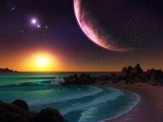 Artistic imagine ..... Beautiful planet