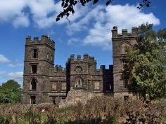 Riber Castle is a 19th century Grade II listed (1) country house situated in the hamlet of Riber on a hill overlooking Matlock, Derbyshire.