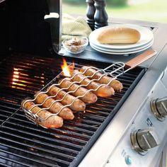 Sur La Table® Sausage Grilling Basket | Sur La Table....good man-gift!