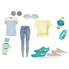 The collocation of fashion, ms Nike shoes surprise discount ! #nike #womens #shoes !