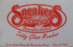 Sneakers Sports Cafe, Cnr Cashel and Mancester Streets. Christchurch, New Zealand.