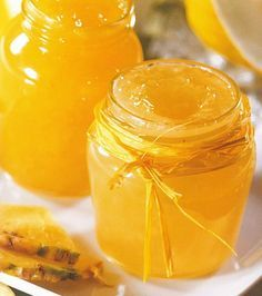 Confiture orange-ananas