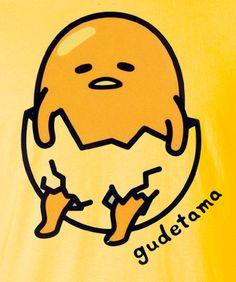 Gudetama sanrio egg diaper t-shirt tee