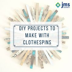 Easy DIY projects to make with clothespins. Here's the link  http://bit.ly/2bmUPb0