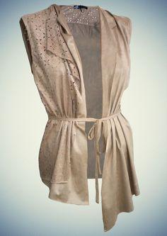 Γυναικεία ζακέτα αλκαντάρα Anel Fashion για το φθινόπωρο και το χειμώνα του 2014 - 2015! Fashion, Dress, Moda, Fashion Styles, Fasion