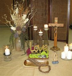 Display at Maundy Thursday meal, St. Maundy Thursday Worship, Worship Service, Holy Week, Lent, Holi, Worship Ideas, Christian, Altars, Display
