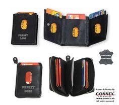 Populære kortholderne i skinn, med din firmalogo preget http://www.connex.no