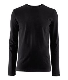 Tavalliset mustat pitkähihaiset, koko M H&m Tops, Neck T Shirt, Long Sleeve Shirts, Turtle Neck, Sweaters, Mens Tops, Detail, Board, Polyvore