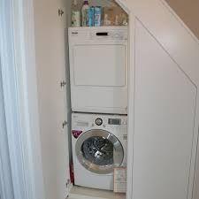 Risultati immagini per downstairs toilet utility room under stairs