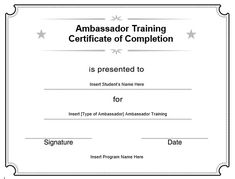 10+ Training Certificate Templates | Word, Excel & PDF Templates