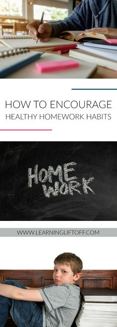 Most kids don't like doing homework, but it's important for academic success and it teaches life skills. Use these tips to develop healthy homework habits in your child. Academic Success, Student Success, Teaching Life Skills, Do Homework, Study Tips, Happy Kids, Early Learning, Educational Technology, Classroom Management