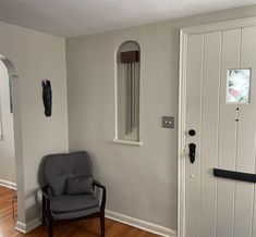 An Alcove Finds Meaning ------ Our new Metro Walnut ElectraChime fits the space perfectly, both in size and matching our existing decor. It finally gives meaning to the alcove by the front door, which we've been struggling to decorate for years. Craftsmanship is top notch! Thanks, Sean in Pittsburgh Doorbells, Alcove, Pittsburgh, Tall Cabinet Storage, Doors, Space, Metal, Modern