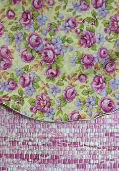 Purple Flower chintz