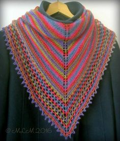 Shawls And Wraps, Knitting Projects, Scarf Wrap, Bandana, Cowl, Crochet, Sweaters, Pattern Ideas, Knitted Shawls