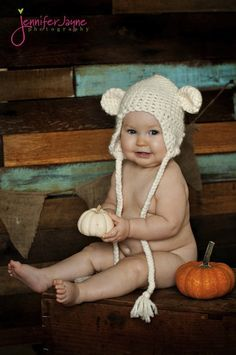 crocheted baby hat free pattern
