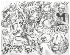 Tattoo Flash by Boog. Tattoos, sketches photos) Source by Payasa Tattoo, Boog Tattoo, Inca Tattoo, Tattoo Fonts, Gangster Tattoos, Chicano Tattoos, Body Art Tattoos, Sketch Tattoo Design, Tattoo Sketches