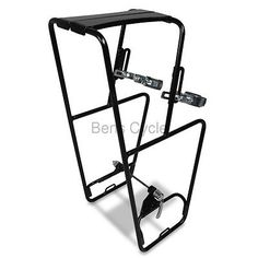 """Minoura MT-4000SF Front Rack Touring MTB Up to 29"""" 29er Panniers QR Steel NEW"""