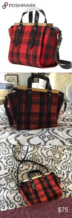 Kate Spade Saturday Plaid Mini Bag previously loved bag. some almost invisible very light wear on the hardware kate spade Bags