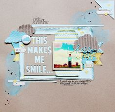 #papercraft #scrapbook #layout Lilith Eeckels