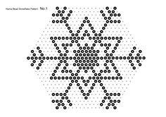 hama bead snowflakes-pattern1min